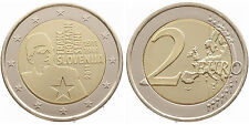 """Slowenien 2011: 2 Euro """"Franc Rozmann"""" prägefrisch aus Originalrolle"""
