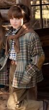 BN Beautiful Designer OSCAR DE LA RENTA Boys Plaid Shirt  Size 4Y