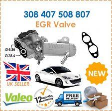 For Peugeot 308 407 508 807 Valeo EGR Valve + Cooler + Seal + Vacuum Bypass New