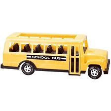 Kids Large School Bus Toy Truck 18'' With Side Doors That Open Yellow Car Gift