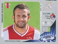N°277 MIRALEM SULEJMANI # SERBIA AFC AJAX CHAMPIONS LEAGUE 2013 STICKER PANINI