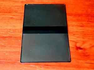 Vinyl Case Credit or Debit Card Holder, ID, Business or Gift Cards, Black Wallet