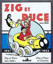 ZIG et PUCE tome 3 - 1931 - 1933. Ed. Futuropolis 1987