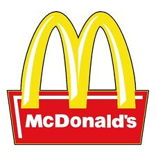 "McDonalds Vinyl Sticker Decal 14"" (full color)"
