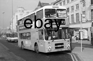Greater Manchester PTE GM Buses Leyland Olympian Northern Counties bus negative