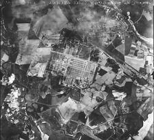 Aerial Photo 1944 Auschwitz - Birkenau Nazi German Concentration Camp