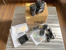 Nikon D600 24.3 MP SLR-Digitalkamera - Schwarz (Gehäuse)