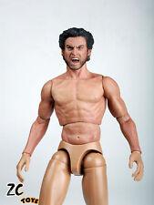 ZC Toys 1/6 Muscular Figure With Wolverine Head Roar Hugh Jackman TTM19 USA