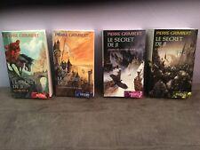 Lot 4 Livres Fantasy LE SECRET DE JI de Pierre Grimbert,tomes 1,2,3,4, en Tbe