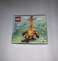 Geoffrey & Friends 40228 LEGO Toys R Us Exclusive Giraffe Retired Factory Sealed
