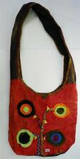 T402 FASHION TRENDY SHOULDER STRAP COTTON BAG  MADE IN NEPAL