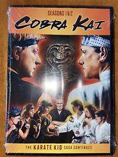 Cobra Kai Season 1&2 Karate Kid DVD Brand New Sealed! OOP