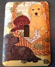 Labrador Retriever switchplate covers