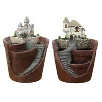 Sky Garden Flower Basket Planter Succulent Pot Trough Box Case Plants Flower