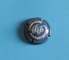 CAPSULE DE CHAMPAGNE PONSART BROCHET  bleu  canard