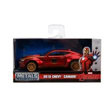 Iron Man 2016 Chevrolet Camaro Red Gold 1:32 Jada 30298