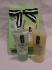 Clinique Foaming Facial Soap & Moisturizing Lotion Gift Box Set New