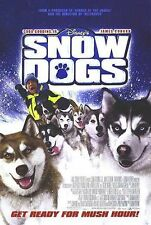 Snow Dogs Original Double-Sided One Sheet Rolled Movie Poster 27x40 NEW 2002