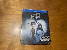 Corpse Bride Blu ray*Warner Bros*Limited Ed Steelbook*Fye Exclusive*Sealed/New*