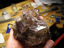 Fluorite from the Minerva I Mine, Cave in Rock, Hardin Co, Illinois