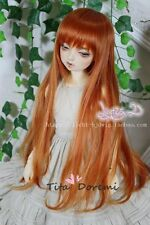 Bjd Doll Wig 1/3 8-9 Dal Pullip AOD DZ AE SD DOD LUTS Dollfie Orange Toy Hair