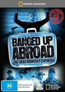 BANGED LOCKED UP ABROAD DVD The Real Midnight Express - RARE 4 HOURS - REGION 4