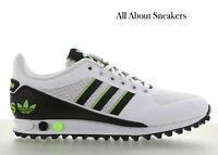"""Adidas LA Trainer II """"White-Black-Green"""" Men's Trainers All Sizes Limited Stock"""