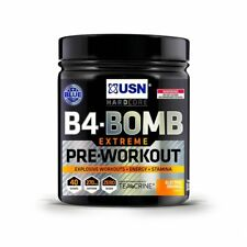 USN B4 Bomb Extreme Pre Workout 300g Strong Muscle Pump Powder Energy Supplement