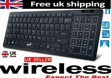 SLIM WIRELESS  KEYBOARD, Multi function +Touch pad Cursor ALSO ( NEW SEALED )