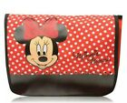 Disney MINNIE MOUSE Red Polka Dotted Messenger Bag From Mickey Mouse Cartoon NEW