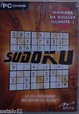 EMME - SUDOKU - jeu PC