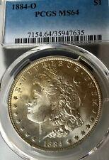 1884-O MS64 Morgan Silver Dollar Golden Toning PCGS