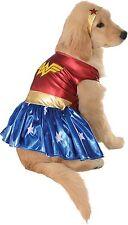 Wonder Woman Superhero Dog Pet Costume Size XL Rubies DC Comics Halloween NEW