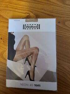 Wolford Neon 40 Tights. Extra large. Cosmetic