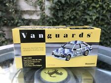 Vanguards Ford Escort RS1600i BSCC 1985 C.Hodgetts 1/43 MIB Ltd Ed VA11004