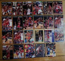Huge Michael Jordan Basketball Card Lot Upper Deck Topps Skybox Olympics Bulls