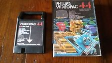 PHILIPS VIDEOPAC COMPUTER G7000 GIOCO 44 CRAZY CHASE IN SCATOLA ORIGINALE!!!!!!!