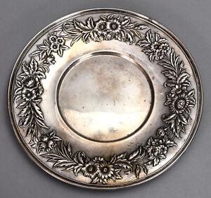 #0532 Repousse By Kirk Sterling Silver Sherbet Dish Wplain Base 3 14 #403
