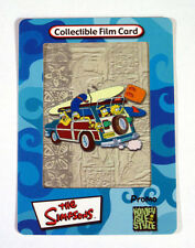 """2000 THE SIMPSONS """"HOMEY ISLE STYLE"""" COLLECTIBLE ARTBOX FILM 3-D PROMO CARD"""