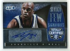 2014-15 SHAQUILLE O NEAL 16/25 AUTO PANINI TOTALLY CERTIFIED SELECT FEW