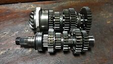 84 HONDA CB650SC NIGHTHAWK CB 650 SC HM785 TRANSMISSION GEAR SHAFT ASSEMBLY