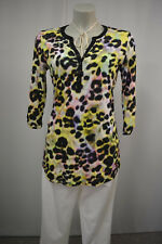 BETTY BARCLAY Tunika Bluse Stretch S Mehrfarbig  3/4 Arm Muster TOP