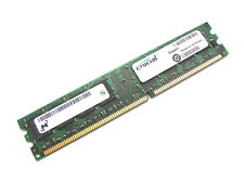 Crucial CT12864Z40B PC3200U-30331 1GB DDR RAM Memory 400MHz (DIMM 184-pin) BGA