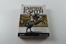 Big Box PC Empire Earth A Sierra missed the game cd