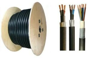 2.5mm Outdoor SWA Cable Underground Armoured 3 4 5 Core Outside Wire Sockets