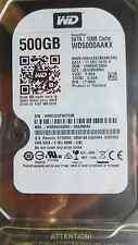 Western Digital 500 gb WD 5000 aakx - 00 Erma 0 DCM: hhrnht 2mh | 11dec2015 | disco duro