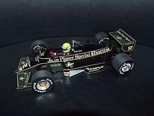 AYRTON Senna Lotus 97 T 1985 1/18 Minichamps JPS F1