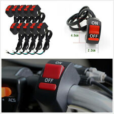 10 Pcs 12V 7/8''Motorcycle ATV Handlebar Switch For Headlight/Fog/DRL/Work Light