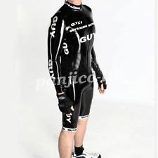 Gummi Latex Pure Rubber Man Fashion Gentleman's Handsome Catsuit Size:XXS~XXL