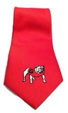 Georgia Bulldogs Men's Tie Bulldog NWT NCAA College Sports Team